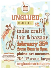 Unglued poster for blog